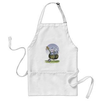 Fußball-Blues Kitty Schürze