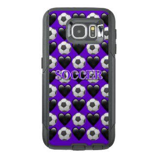 Fußball Emoji Samsung Kasten Galaxie-S6 Otterbox