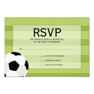Fußball-Feld-Themed Bar Mitzvah UAWG 8,9 X 12,7 Cm Einladungskarte