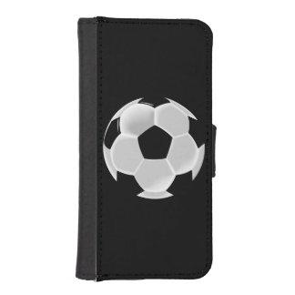 Fußball-Fußball Futbol Ball iPhone SE/5/5s Geldbeutel