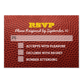 Fußball-GoldBar Mitzvah UAWG Karte 8,9 X 12,7 Cm Einladungskarte