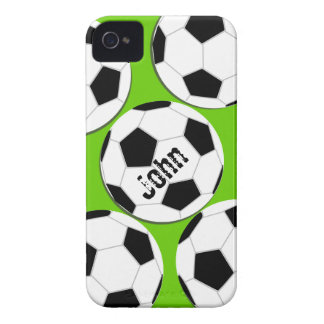 Fußball iPhone 4 Fall iPhone 4 Case-Mate Hülle