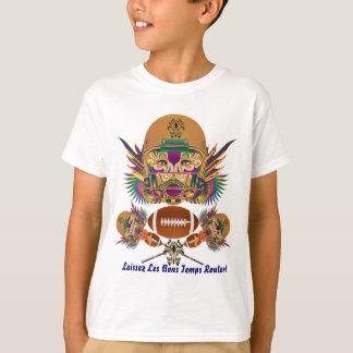 Fußball-Karneval denkt, dass er, Anmerkungen früh T-Shirt
