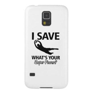 Fußball-Tormann Samsung S5 Cover
