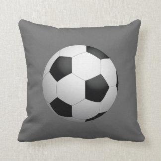 Fußball-Wurfs-Kissen Zierkissen