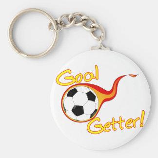 Fußball-Ziel-Empfänger Schlüsselanhänger