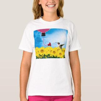 Füttern des Kolibris T-Shirt