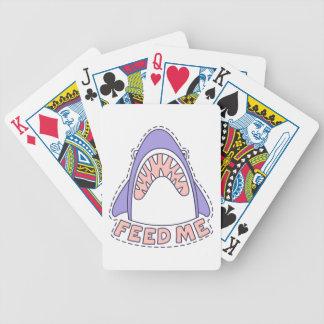 Füttern Sie mir Haifisch Bicycle Spielkarten