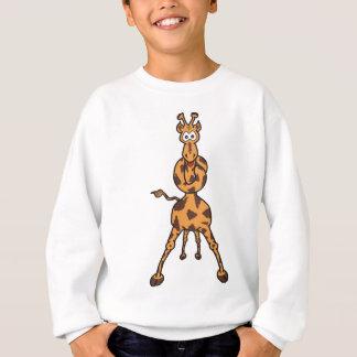 G. Raphael, die verwirrte Giraffe Sweatshirt