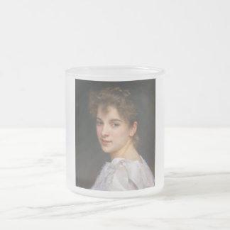 Gabrielle Feldbett durch William Adolphe Matte Glastasse