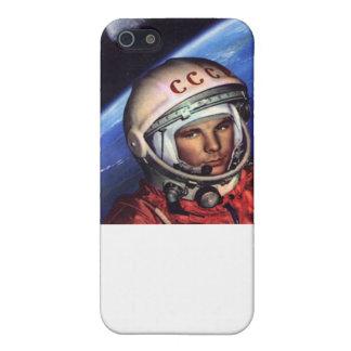 Gagarin-Kosmos UDSSR iPhone 5 Schutzhüllen