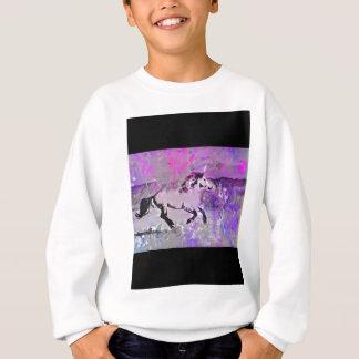 Galaktisches Einhorn Sweatshirt