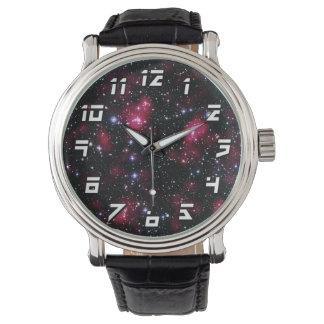 Galaxie-Gruppe Abell 901/902 Hubble Raum-Foto Armbanduhr