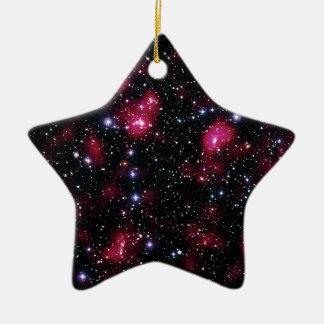 Galaxie-Gruppe Abell 901/902 Hubble Raum-Foto Keramik Ornament