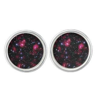 Galaxie-Gruppe Abell 901/902 Hubble Raum-Foto Manschetten Knöpfe