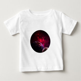 Galaxy Purple 1 - violetter Gláxia Baby T-shirt