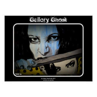 """Galerie-Geist-"" Malerei-Plakat Poster"