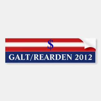 Galt/Rearden 2012 Autoaufkleber