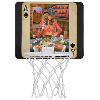 Gamblin Cowgirl Mini Basketball Netz