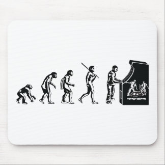 Gamer-Evolution - Spiel-VideospieleArcadeGeek Mauspad