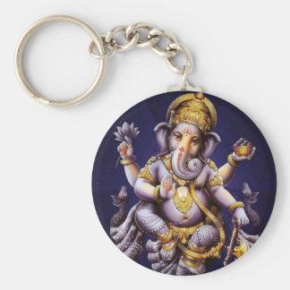 Ganesh Ganesha asiatischer Elefant-Gottheit Schlüsselanhänger