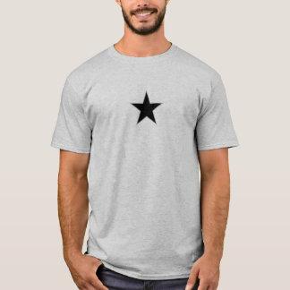 gangsta-natty-vorderes Stern-graues T-Shirt