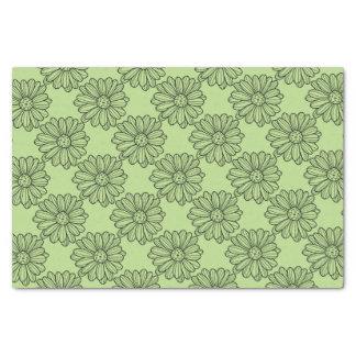 Gänseblümchen-Blume Seidenpapier