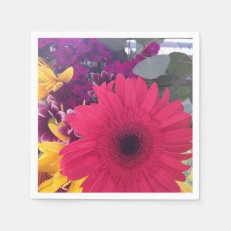 Gänseblümchen-Blumen Servietten