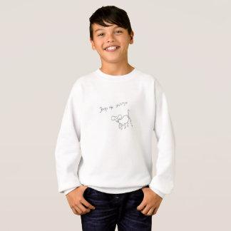 Gänseblümchen das Shih tzu Jungen-Sweatshirt Sweatshirt