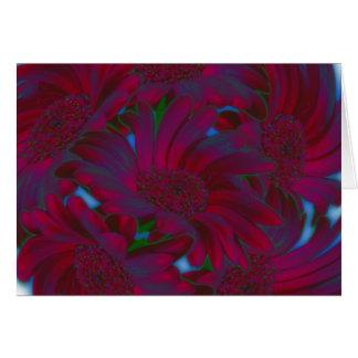 Gänseblümchen in einem Wirbelwind Karte