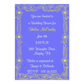 Gänseblümchen-Polterabend-Einladung 12,7 X 17,8 Cm Einladungskarte