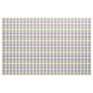 Gänseblümchen-Rad (Gelb und Lila) Stoff