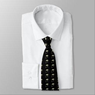 Gänseblümchen - Schwarzweiss Personalisierte Krawatten