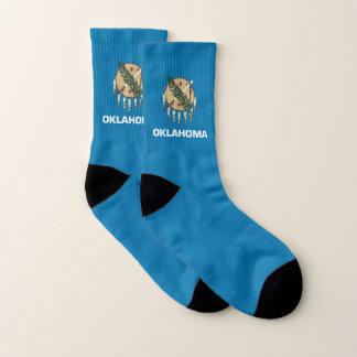 Ganz über Druck-Socken mit Flagge von Oklahoma Socken