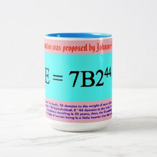 Gaos Tag des Jüngsten Gerichts-Gleichung Zweifarbige Tasse