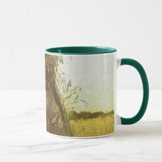 Garben Weizen durch Vincent van Gogh Tasse