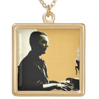 García Lorca am Klavier Vergoldete Kette