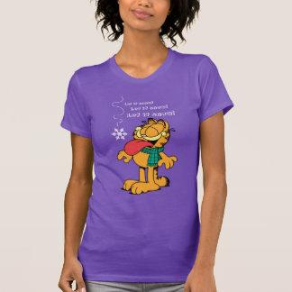 Garfield ließ es schneien! T-Shirt