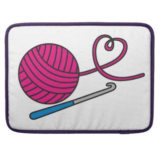 Garn-Liebe Macbook Prohülse MacBook Pro Sleeves