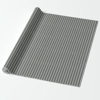 Garn-nähendes Streifen-Handwerk Geschenkpapier