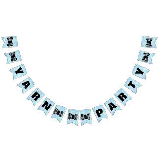 Garn-Party-Handwerk Wimpelketten