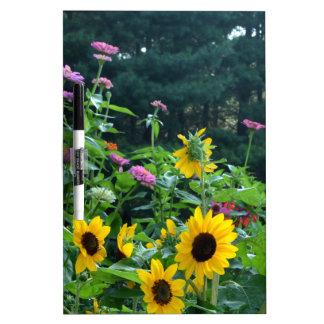 Garten-Ansicht Memoboard