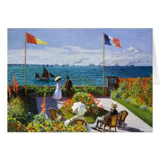 Garten bei Sainte-Adresse, Claude Monet 1867 Karte