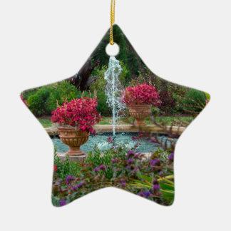 Garten-Brunnen Keramik Ornament