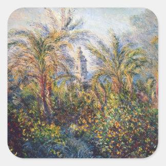 Garten Claude Monets | in Bordighera Quadratischer Aufkleber