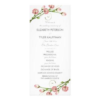 Garten-Rosen, die Programm Wedding sind Werbekarte