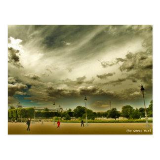 Garten von Tuileries, Paris, Frankreich Postkarte