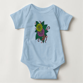 Gartennelken Baby Strampler