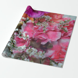 "Gartennelken-Blumen-Verpackungs-Papier, 30"" x 6' Geschenkpapier"