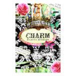 GASCHROMATOGRAPHIE | SCHÄBIGER Vintager Charme - s Flyerdesign
